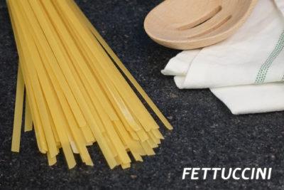 พาสต้าเฟตตูชินี (Fettuccine)